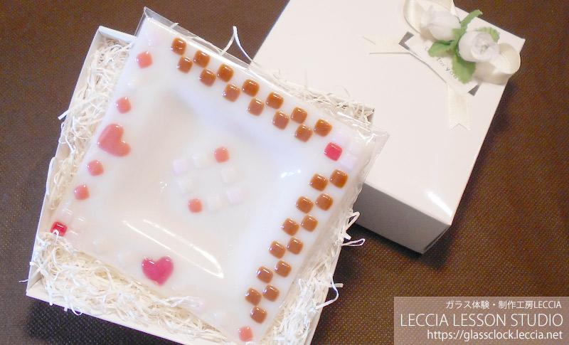 ガラスフュージングで作るお皿5 ガラス体験・制作工房レチア【愛知・名古屋】