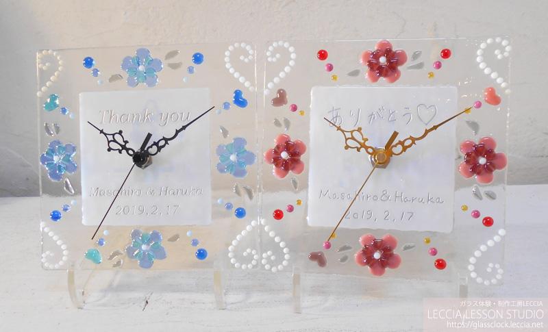 結婚式での手作り両親贈呈ギフト レチアレッスンスタジオ