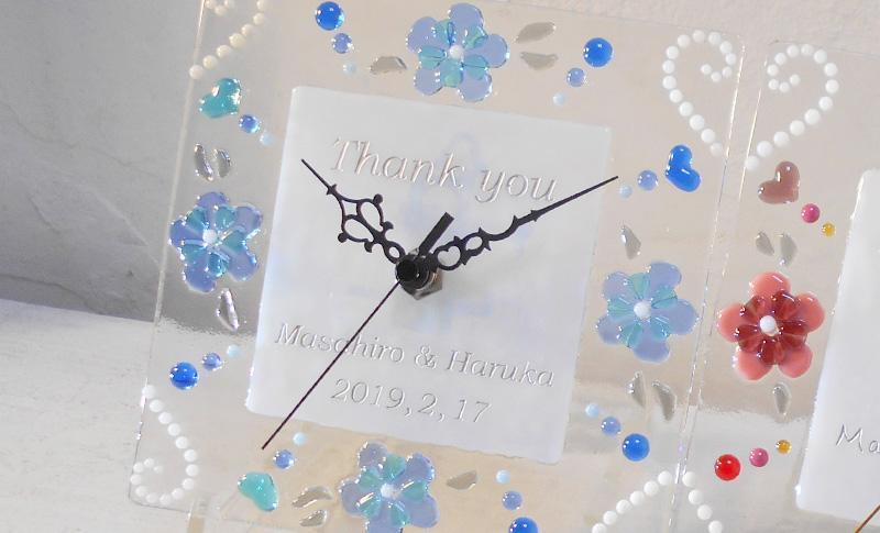 結婚式での手作り両親贈呈ギフト4 ガラス体験・制作工房LECCIA【愛知・名古屋】