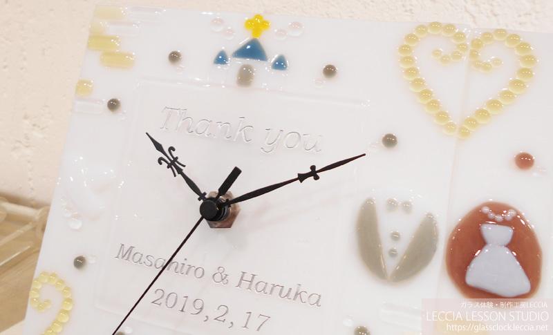 結婚式での手作り両親贈呈ギフト2 レチアレッスンスタジオ