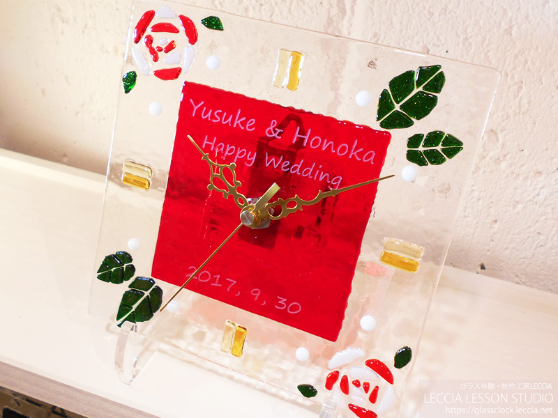 手作り両親贈呈ギフト・結婚式での新郎新婦サプライズプレゼント 愛知・名古屋LECCIA