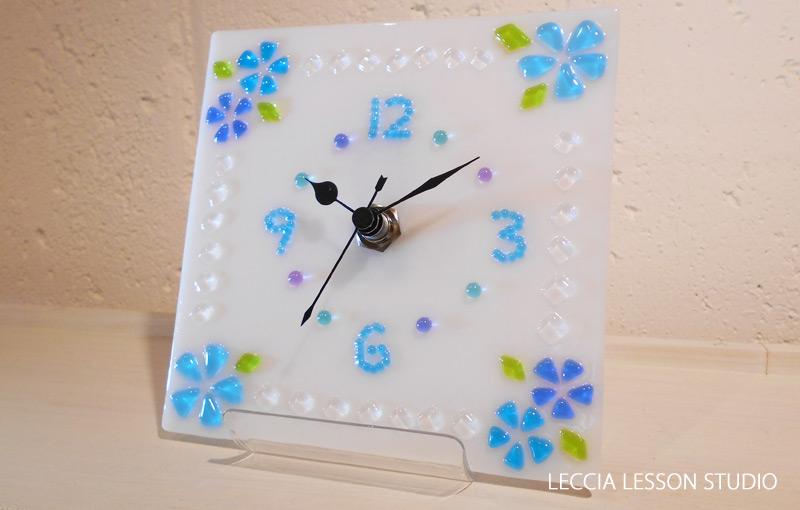 みえ さん、 さちえ さん ギフトコース作品 ガラス時計